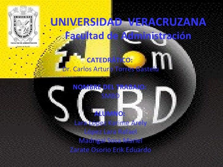 UNIVERSIDAD  VERACRUZANA Facultad de Administración CATEDRÁTICO: Dr. Carlos Arturo Torres Gastelù  NOMBRE DEL TRABAJO: ...