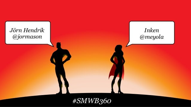Jörn Hendrik @jormason Inken @meyola #SMWB360
