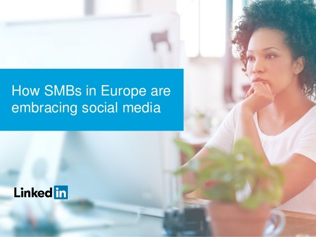 How SMBs in Europe are embracing social media