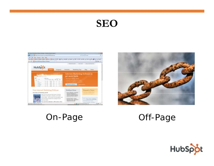 25% of SEO = On-Page • Page Title  • Clean URL  • Headers & Content   • Description