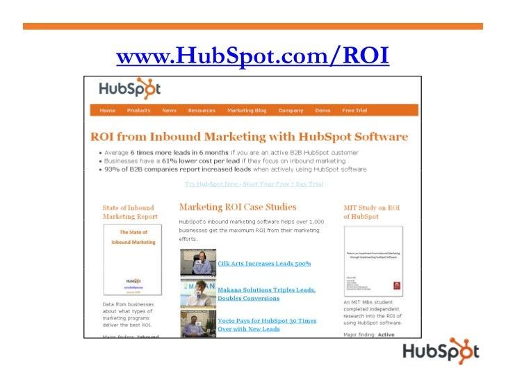 www.HubSpot.com/ROI