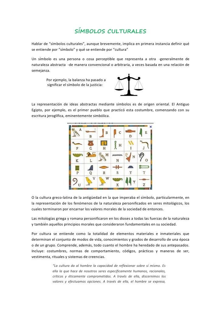 Símbolos Culturales 130312