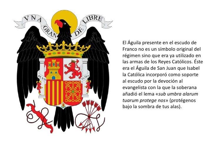 simbolos franquistas