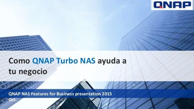 QNAP SMB Presentation en Español