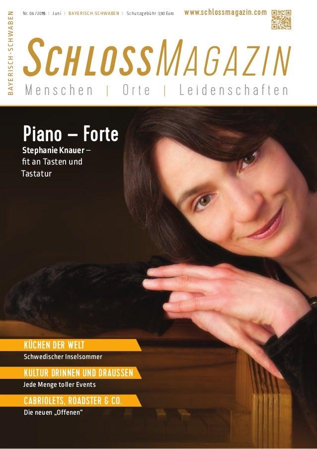 Piano – Forte StephanieKnauer– fit an Tasten und Tastatur Küchen der Welt Schwedischer Inselsommer Kultur drinnen und drau...