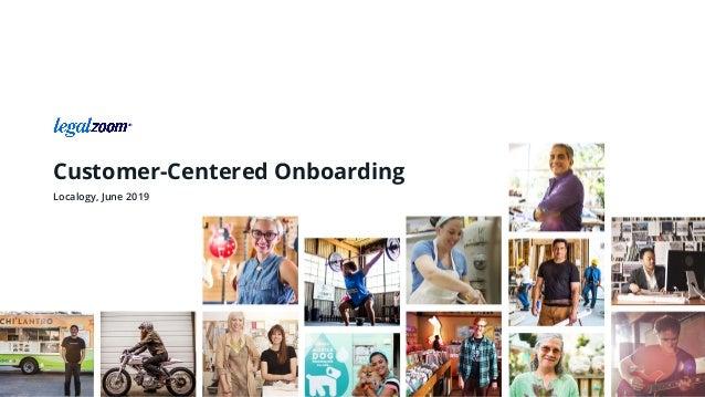 Customer-Centered Onboarding Localogy, June 2019