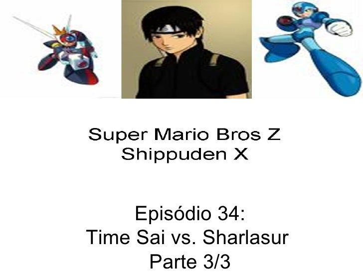 Episódio 34: Time Sai vs. Sharlasur  Parte 3/3