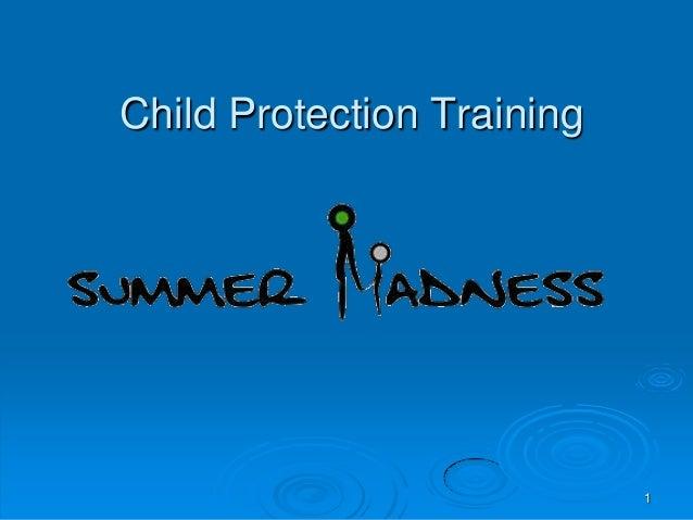1 Child Protection Training