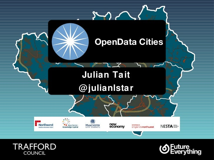 OpenData Cities Julian Tait @julianlstar