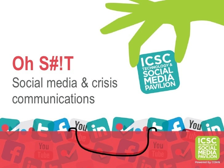 Oh S#!TSocial media & crisiscommunications