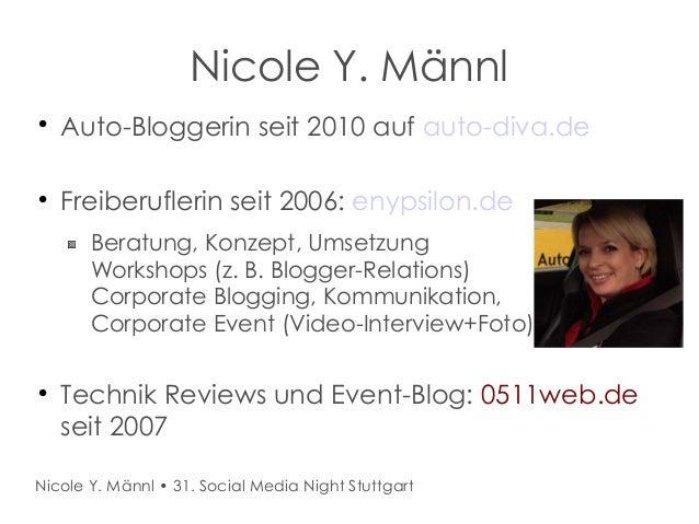 31. Social Media Night Stuttgart Slide 2