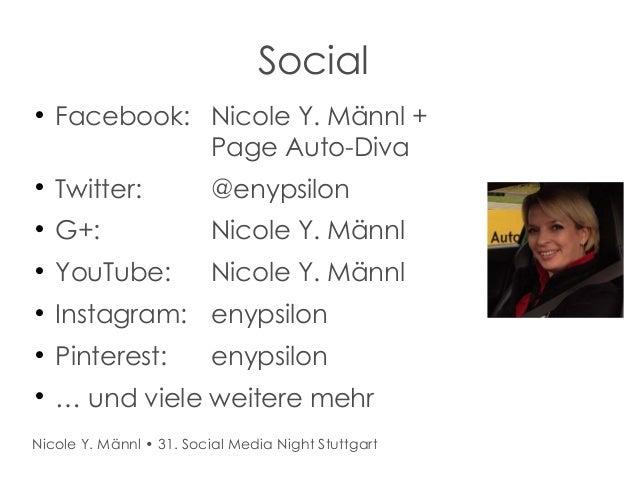 31. Social Media Night Stuttgart Slide 3