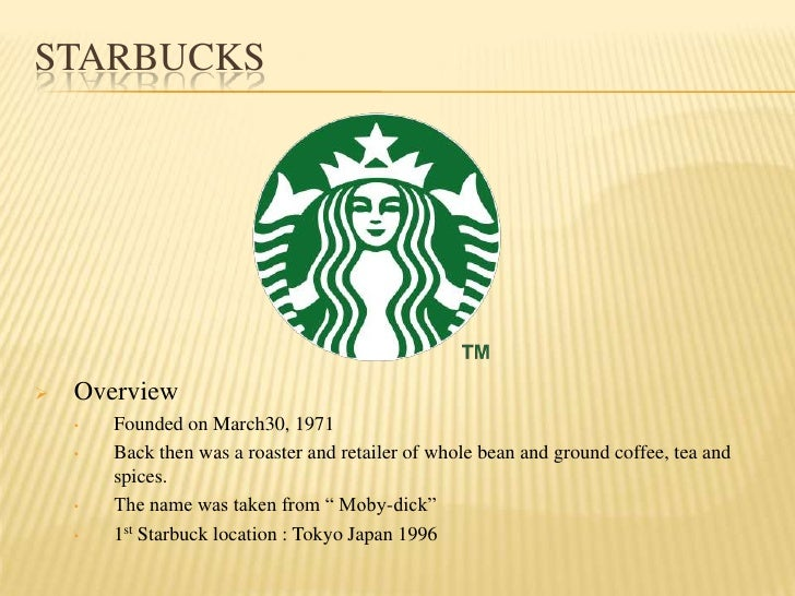 Starbuck moby dick coffee