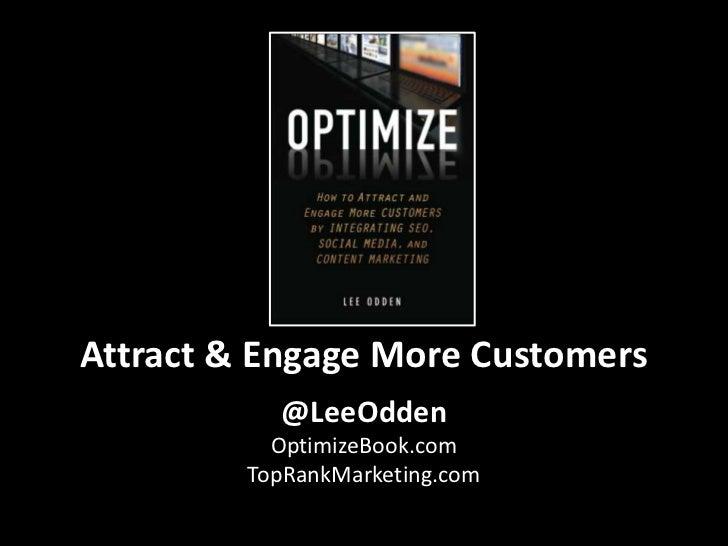 Optimize - Social Media Club Webinar with Lee Odden