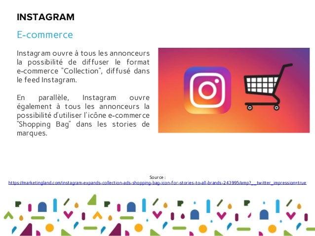 """Instagram ouvre à tous les annonceurs la possibilité de diffuser le format e-commerce """"Collection"""", diffusé dans le feed I..."""