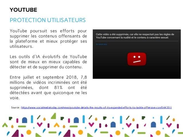 YouTube poursuit ses efforts pour supprimer les contenus offensants de la plateforme et mieux protéger ses utilisateurs. L...