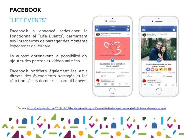 """Facebook a annoncé redesigner la fonctionnalité """"Life Events"""", permettant aux internautes de partager des moments importan..."""