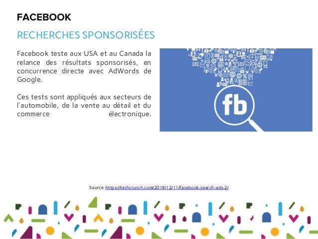 Facebook teste aux USA et au Canada la relance des résultats sponsorisés, en concurrence directe avec AdWords de Google. C...