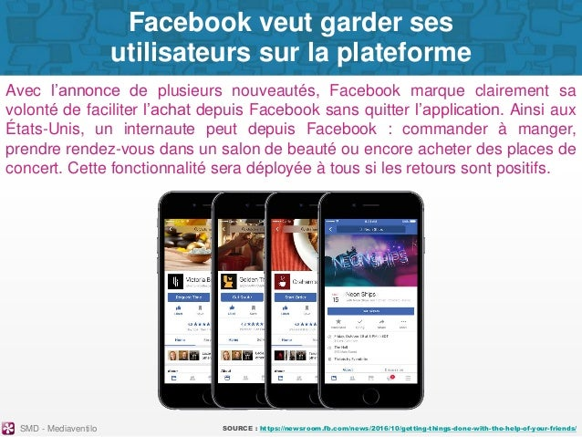 Social Media Digest n°30. Retour sur l'actualité des réseaux sociaux du mois précédent. Slide 3