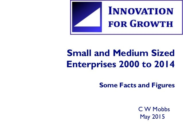 Small and Medium Sized Enterprises 2000 to 2014 Some Facts and Figures C W Mobbs May 2015