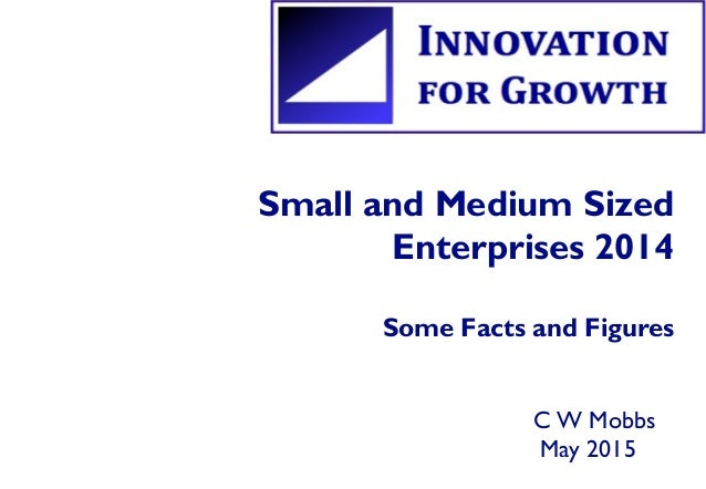 Small and Medium Sized Enterprises 2014 Some Facts and Figures C W Mobbs May 2015