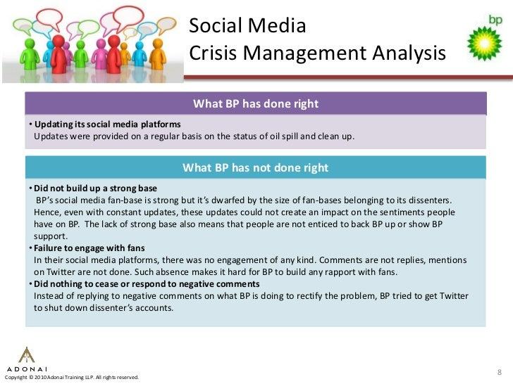 Social Media                                                               Crisis Management Analysis                     ...