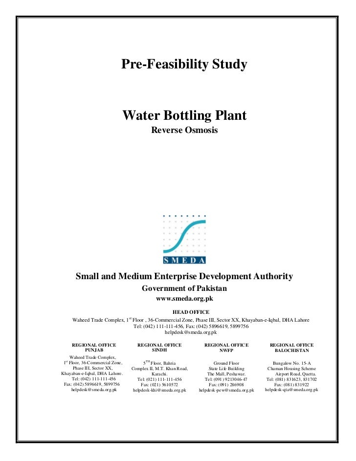 smeda feasibility reports 2018