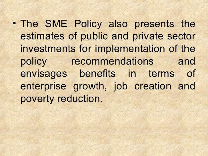 sme sector essay Open document below is an essay on reseach project on sme sector in sri lanka from anti essays, your source for research papers, essays, and term paper examples.