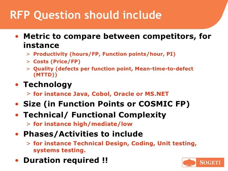 Request For Proposal Rfp Management Ask The Right Questions And C