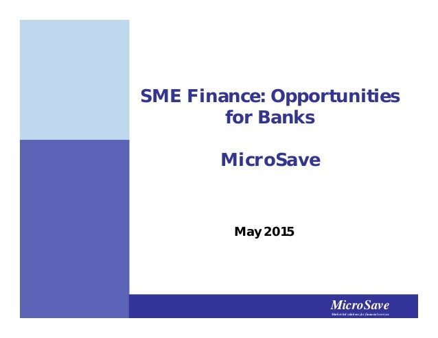 Moving the Needle – SME Financing in Emerging Markets