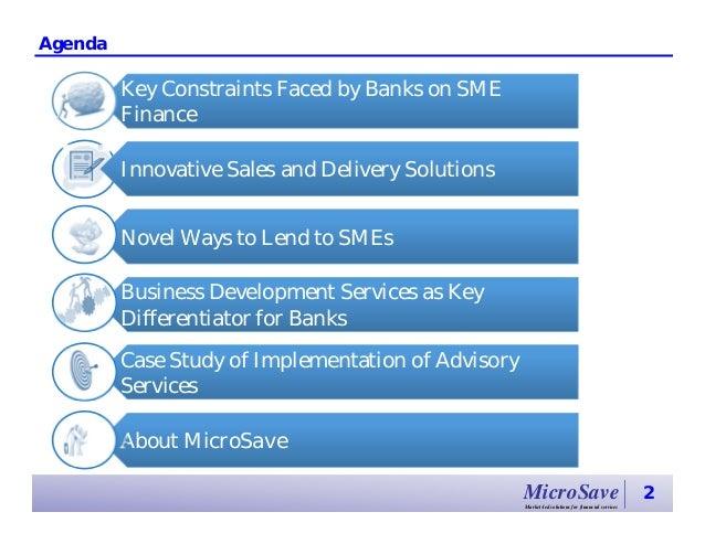 SME Finance: Opportunities for Banks Slide 2