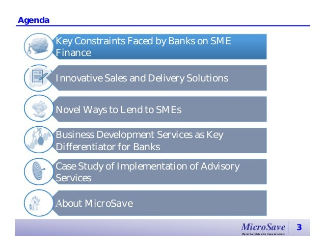 SME Finance: Opportunities for Banks Slide 3