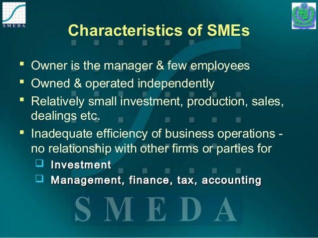 Characteristics of SME's Marketing Essay