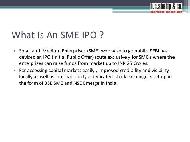 Sme ipo nse form