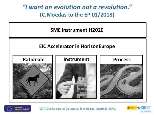 The 7 differences betweent the H2020 SMEI and the EIC Accelerator Slide 2