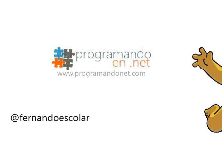 www.programandonet.com@fernandoescolar
