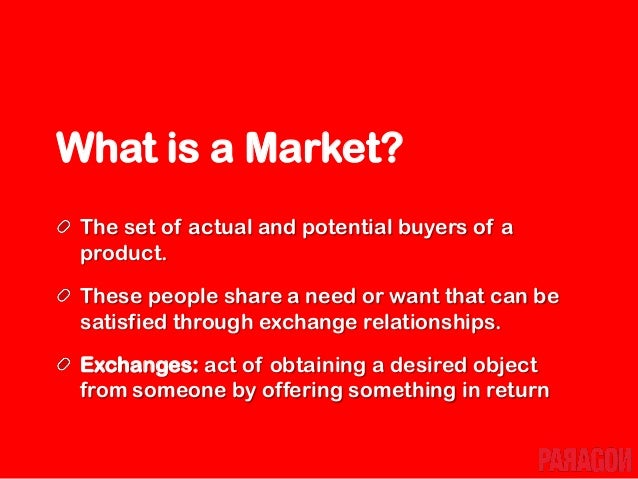 What is Marketing? Marketing is the process of planning and executing the conception, pricing, promotion, and distribution...