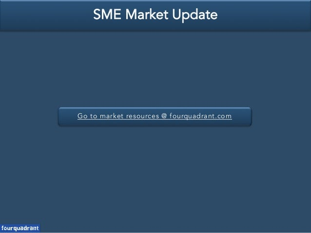 Go to market resources @ fourquadrant.com SME Market Update
