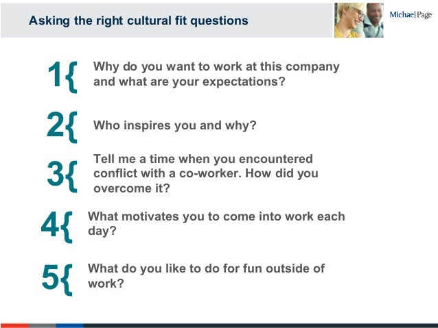 Beautiful Asking The Right Cultural Fit Questions; 29. 1{ Why Do You ...