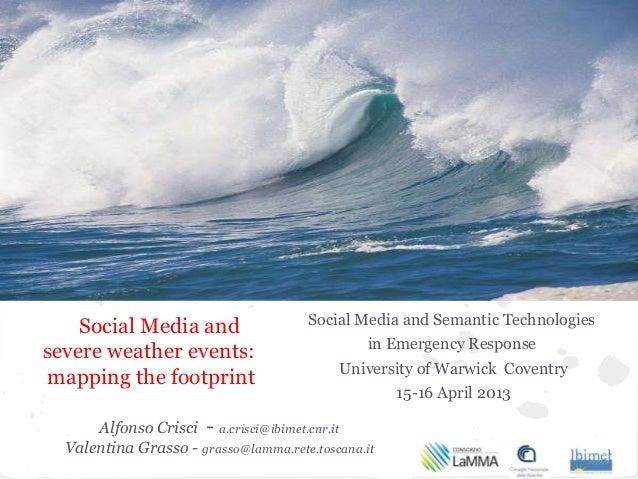 Social Media and                   Social Media and Semantic Technologies                                                i...