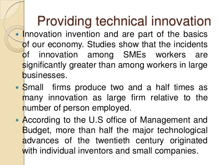 Sme and globalization