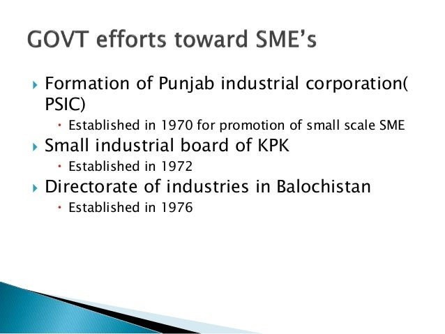 financial issues for financing smes in pakistan essay The challenges of financing smes 1 outline introduction  afriland first bank rationale for financing smes  in need of structured financial support and specifically.