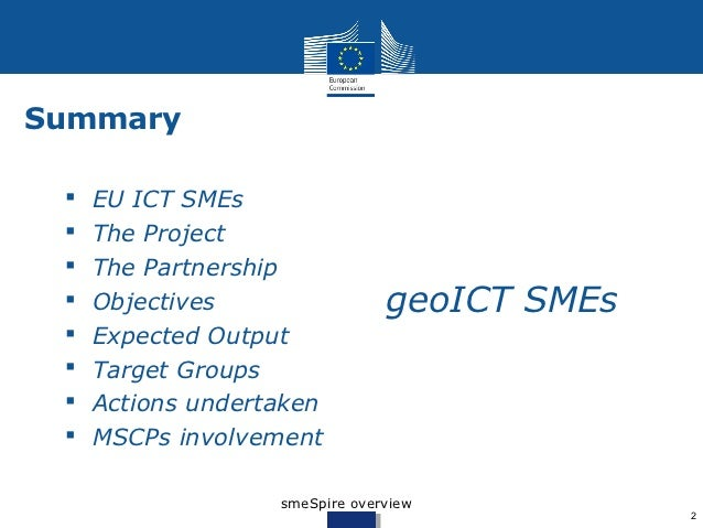 Smespire project overview Slide 2