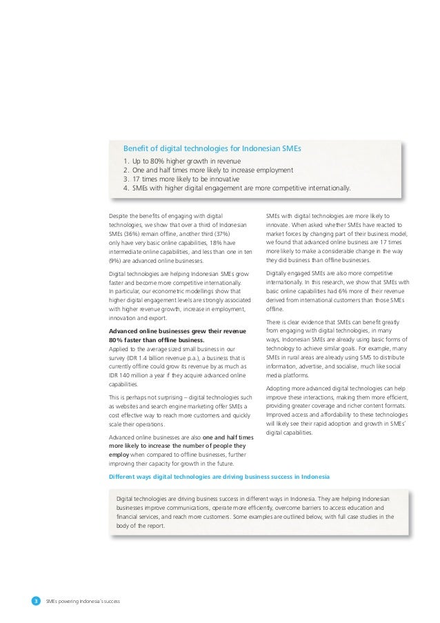 SME's Powering Indonesia's Success