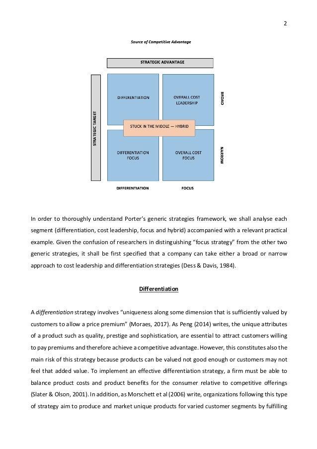 5 generic strategies
