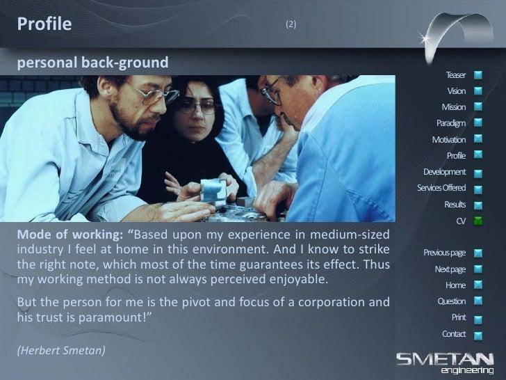 smetan engineering company presentation english