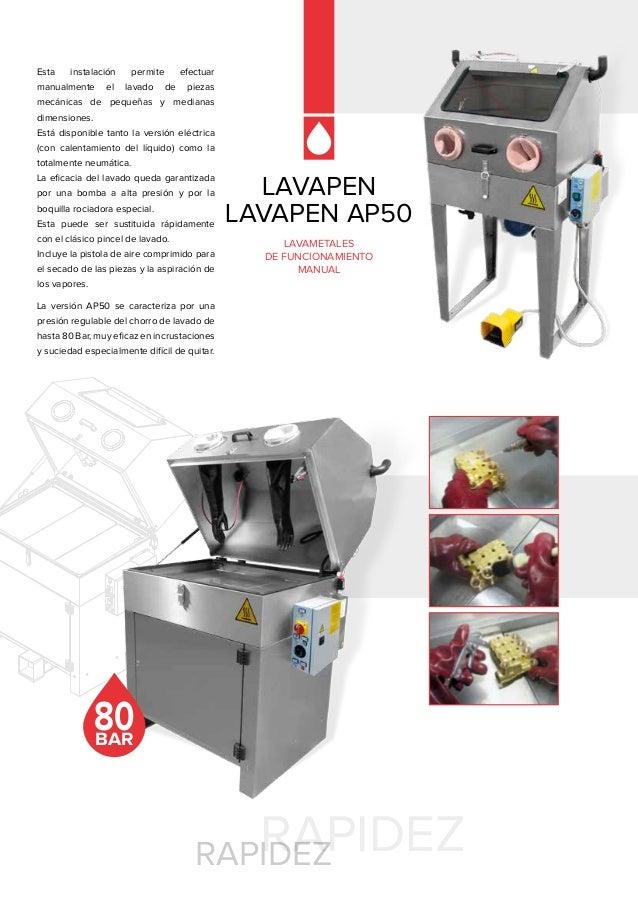 Cat logo lavadoras de piezas sme for Piezas de fontaneria catalogo