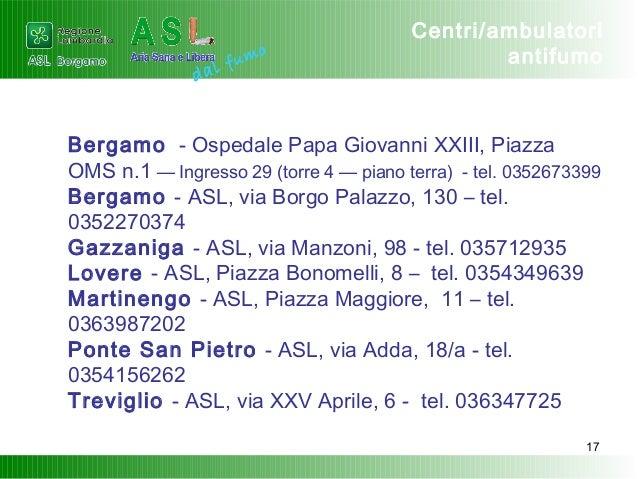 Centro antitabacco - Asl3