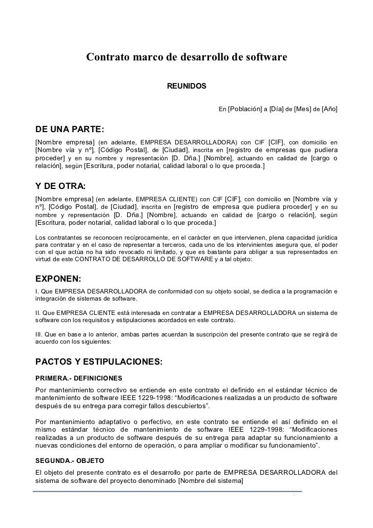 Formatos de cotratos mformatodecom formatos de curriculum for Formato de contrato de trabajo