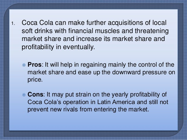 coca cola s marketing challenges in brazil case questions The challenge: in developed markets  whereas coca-cola's profits were linked solely to the volume of concentrate sold to bottlers, rather than the price paid by customers  the writer is a.